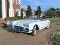 Known as the Export Vette, this extremely rare 1961
