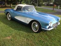 1961 Chevrolet Corvette Base Convertible 3 Speed
