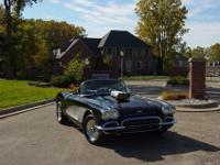 1961 Chevrolet Corvette convertible blackone of the