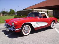 1961 Chevrolet Corvette DUAL QUAD 270 hp, THESE 300