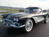 Beautiful Frame off restored 1961 Corvette Conv. Tuxedo