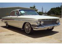 This beautiful 1961 Impala Bubble Top has a brand new
