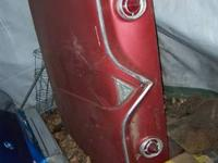 Trunk lid for a 61 Chevy Impala. Pretty good shape