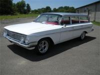 1961 Chevy Nomad Wagon This rare old 4 door wagon is a