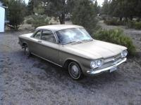 Hello, I have this 1961 Corvair that has a Great Body