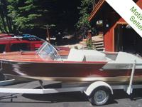 You must see this 1961 Chris Craft 17' Ski Boat.