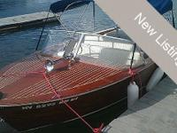 This classic 1961 Chris Craft 17 Sportsman runabout is