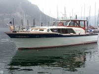 The 1961 36' Chris Craft Constellation is a classic. As