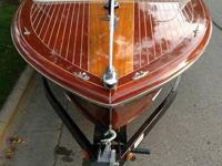 1961 Chris Craft Continental Wooden boat with 283 small