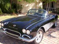 1961 Corvette --- awesome car!! Newly redone.