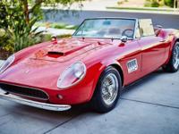 1961 Ferrari Modena Clean California Title (Registered