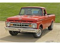 This freshly restored 1961 Ford F100 is loaded with