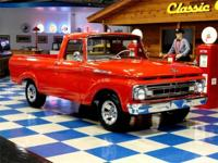 1961 Ford F100 Unibody. 292cui Y block. 3 on the tree