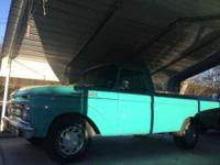 1961 Ford F100 Classic Truck 1961 Ford F100 Unibody for