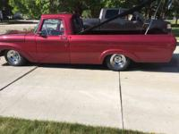 Year : 1961 Make : Ford Model : Pickup Exterior Color :