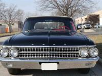 The 1961 Galaxie was a beautifully sculptured new