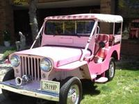 UP FOR SALE 1961 GALA SURREY WILLYS JEEP WITH 7,6XX
