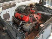 ORIGINAL V6 ENGINE out of 1961 GMC C1500 (3/4 ton) LWB