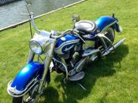 1961 Harley Davidson FLH 1300cc Also comes with