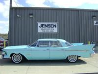 1961 Imperial Crown out of California is equipped with