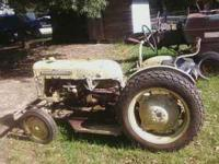 1961 International Cub LoBoy with bellymower. Runs and