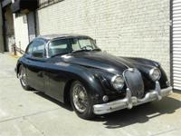 1961 Jaguar XK150 Coupe. Extremely rare 3.8 ltr. Black