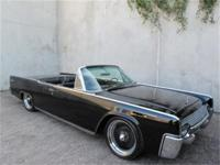 1961 Lincoln Continental Convertible Triple Black Here