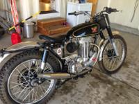 1961 Matchless 350 Trial Motorcycle.Recent restoration
