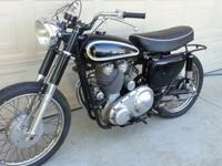 1961 Matchless Typhoon 600. Very rare bike with only