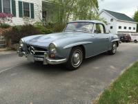 One owner MB 190 SL.  It was received as a college