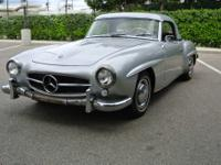 Rare 1960 Mercedes Benz 190 SL convertible completed in