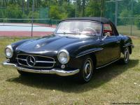 It is an incredible example of a 190 SL!