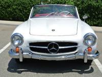 Superb 1961 Mercedes-Benz 190SL restored in it's