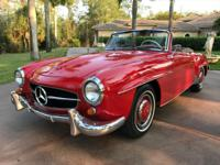 1961 Mercedes Benz 190SL finished in the correct