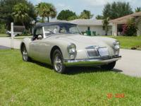 1961 MG MGA. -Beautiful, unique and classy A model.
