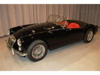 This stunning MGA 1600 roadster was the subject of a