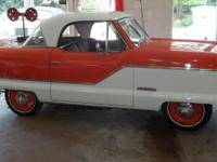 1961 Nash Metro with a 4cyl engine and a smooth 3 on