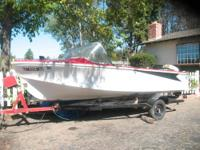 Classic 1961 Retro Runabout boat. One owner. Mint