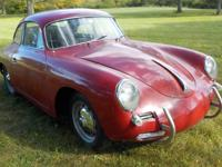 1961 Porsche 356 B Coupe 1600. I am selling this