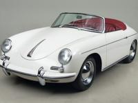 1961 Porsche 356B Roadster VIN: 89223 Engine: 605054