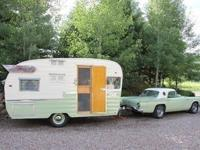 Award-winning 1961 Shasta Airflyte - 90% original! Not