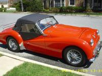 1961 TR3 completely restored about 20 years ago. Still