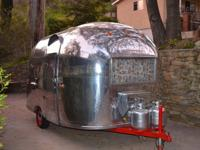1961 VINTAGE AIRSTREAM BAMBI 16 BABY-SIZED &