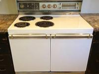 "1961 Frigidaire Custom Imperial 40"" electric double"