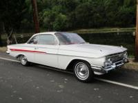 Year: 1961 Make: Chevy Model: Impala Mileage: NA