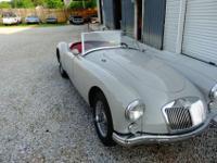 THIS IS A RARE FIND 1961 MGA 1600 MOTOR RUNS LIKE A