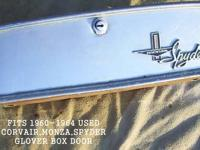 1960-1964,USED CORVAIR MONZA SPYDER GLOVE BOX DOOR