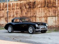 The Austin Healey 3000, a modest sports car built for