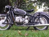 BMW R 50/2 was manufactured on May 18th. This Beemer