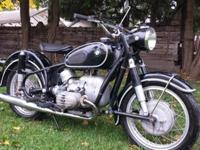 BMW R 50/2 was made on May 18th. This Beemer rides and